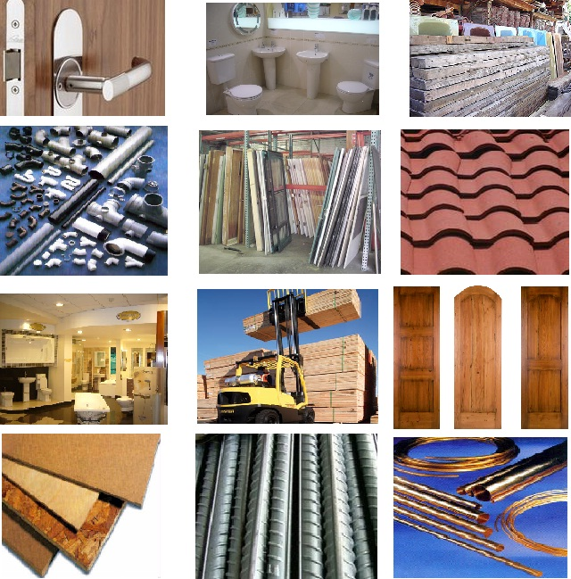 Building material business segment categories hkieco for Materials needed to build a house